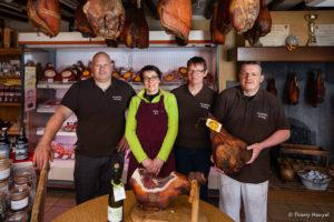 Jambons Lessay- equipe - cotentin - normandie