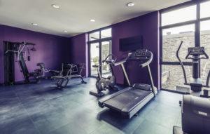 Salle de fitness hôtel Mercure Cherbourg Normandie