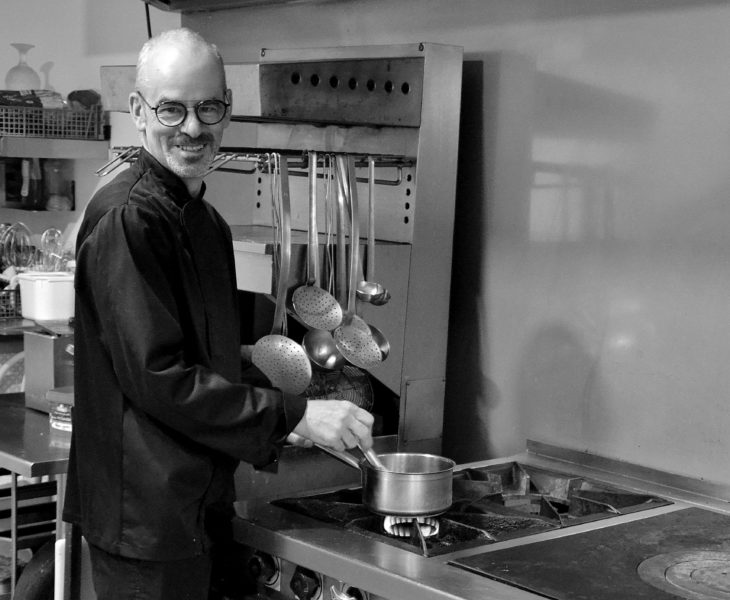 Recette de Chef : Croustillant d'andouille aux pommes – Chef Philippe Batard