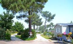 The La Plage de Fermanville Camping site