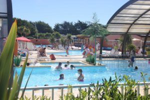 Camping grand large Pisine Grand large cotentin Manche