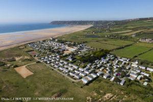 Camping le Grand large 5 étoiles en bord de mer Normandie