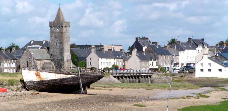 Portbail - Cotentin église et épave Portbail