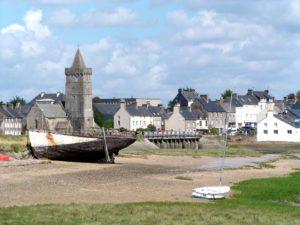 Cotentin église et épave Portbail