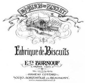 La Maison du Biscuit logo traditionnel Cotentin Normandie @maison-du-biscuit-burnouf