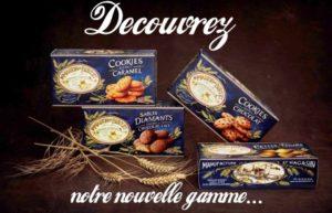 La Maison du biscuit présentation de biscuit - nouvelle gamme - Cotentin - Normandie @maison-burnouf