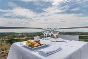 Le Panoramique restaurant exterieur terrasse cotentin