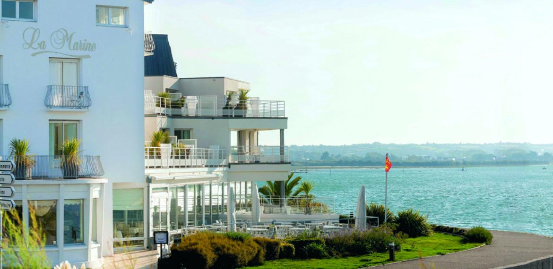 Hôtel-Restaurant La Marine - hôtel la marine extérieur