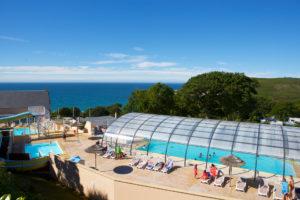 camping avec Parc aquatique en Normandie - @camping Anse du Brick - Cotentin Tourisme