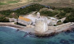 Les tours Vauban de la Hougue et de Tatihou à St Vaast-la-Hougue