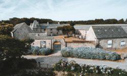 The Tourp manor house