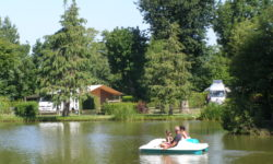 The Etang des Haizes Camping site