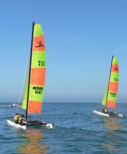 Activité nautiques dans le Cotentin - catamaran @polenautiquelahague - Cotentin Tourisme Normandie