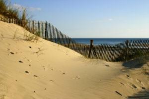 dunes de sable sur la cote des isles @C.DUTEURTRE