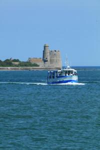 ile Tatihou - Bateau amphibie en mer - cotentin - normandie