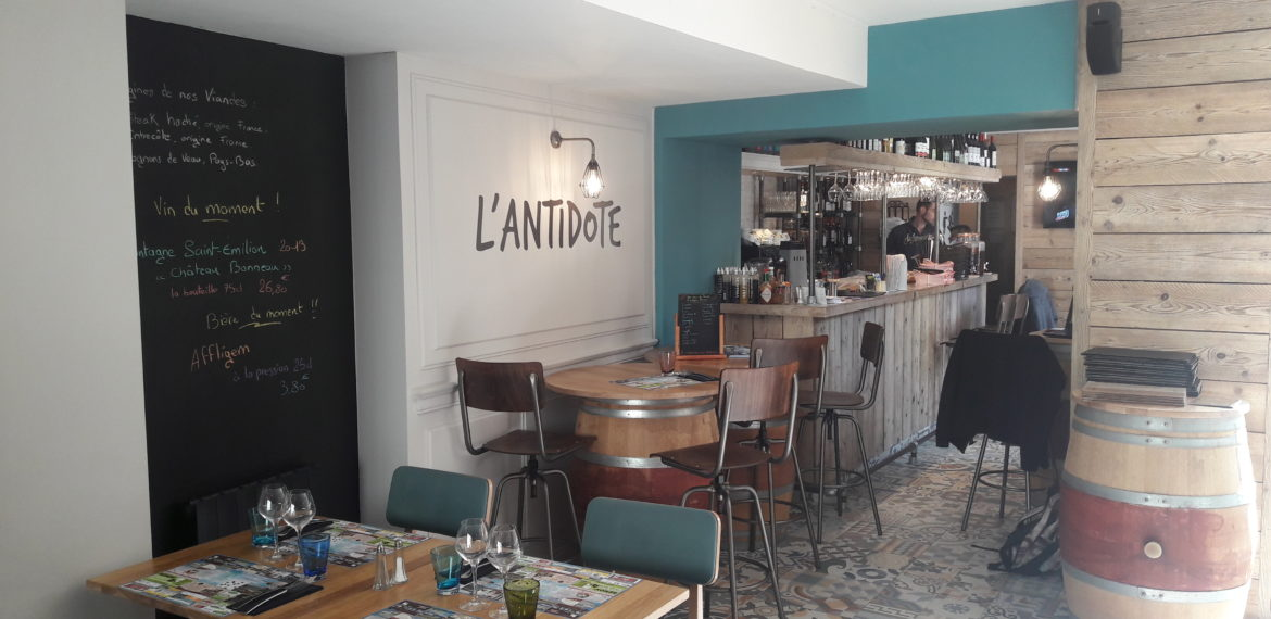 The Antidote Restaurant - l'antidote cherbourg le bar