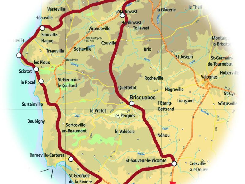 Circuit Découverte Côte des Isles en Normandie