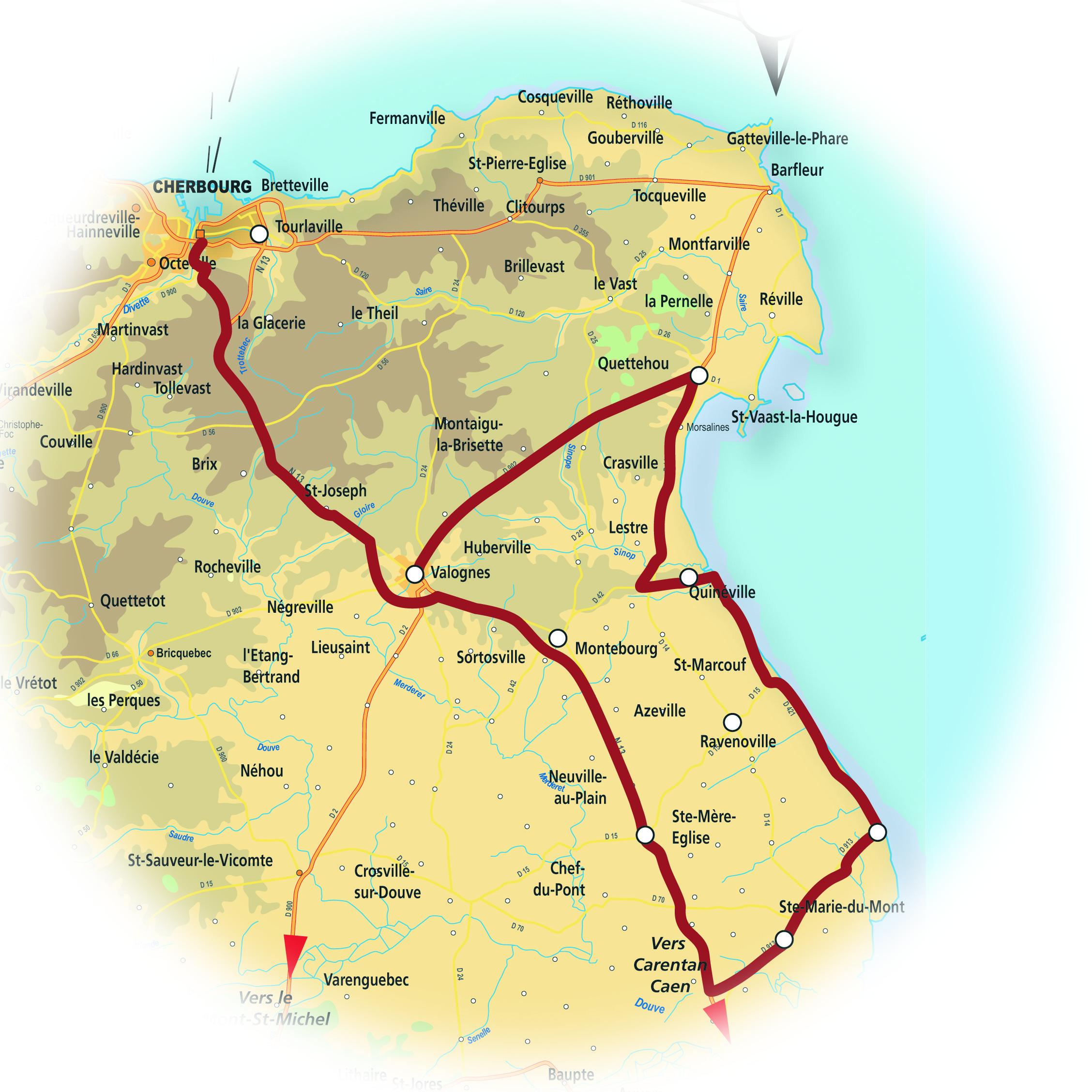 region du cotentin