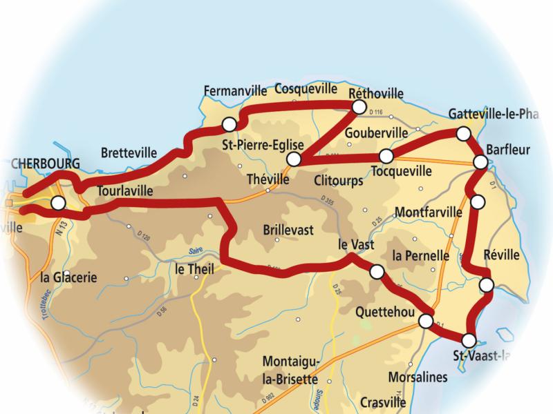 Circuit Découverte du Val de Saire