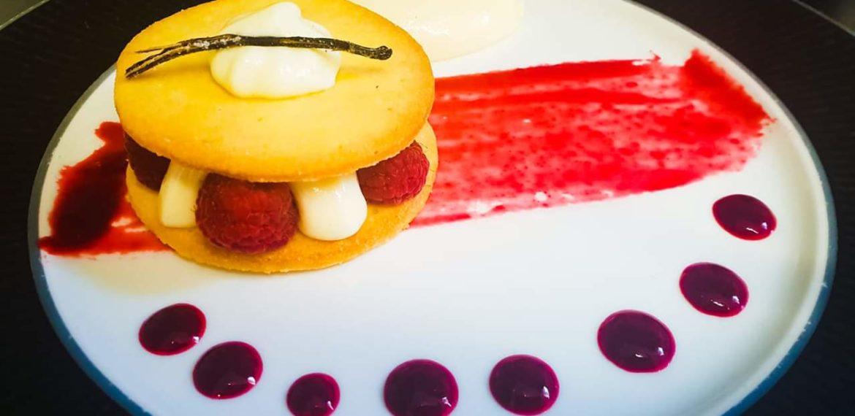 Restaurant de l'hôtel Brit de Lessay - Hotel restaurant Brit Hotel Lessay Dessert