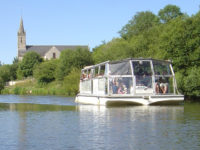 Croisière par douve et marais cotentin bateau Barbey-d-Aurevilly