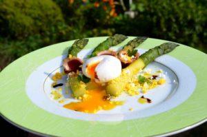Restaurant la bruyere la hague plat, Normandie Cotentin