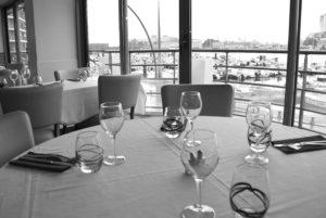 Restaurant La Marina - vue port de Cherbourg @agencesodirect - Cotentin Tourisme