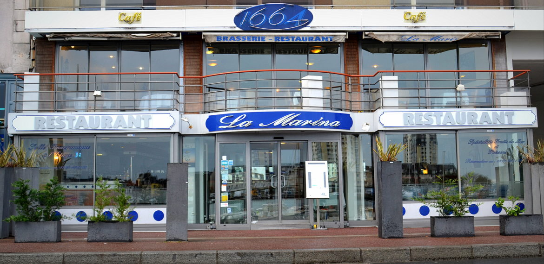 Restaurant La Marina - restaurant-la-marina-cherbourg-facade-cotentin-normandie@agencesodirect