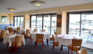 Restaurant La Marina - restaurant cherbourg salle à l'étage @agencesodirect - Cotentin Tourisme