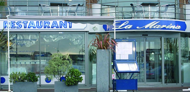 Restaurant La Marina - restaurant-la-Marina-cherbourg-port-normandie
