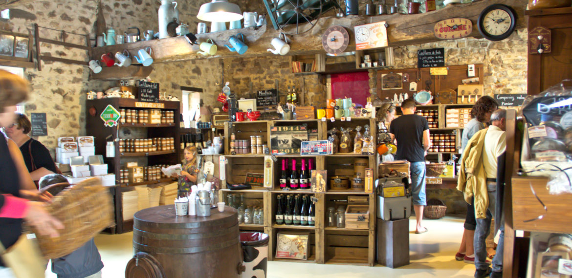 The Lait Douceur de Normandie shop - lait douceur boutique bocage cotentin normandie
