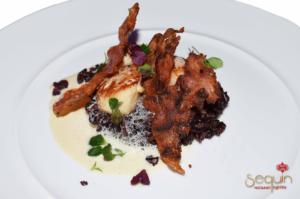 Plat du Sequin restaurant nightlife Cherbourg @casinodecherbourg - Cotentin Tourisme
