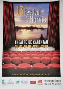 @Affiche festival de théâtre des marais - Cotentin Tourisme