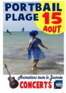 Fête de la plage Portbail 15 août 2019