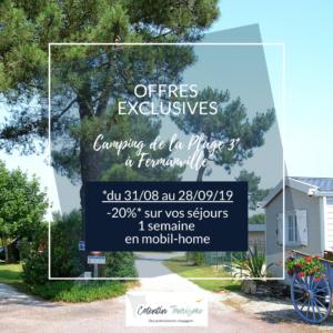 offre derniere minute normandie @camping de fermanville cotentin tourisme