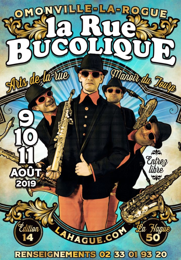AGENDA: From August 9 to 11, 2019 – Festival La Rue bucolique at the Manoir du Tourp