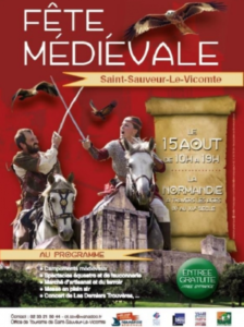 15 aout 2019 - Fête médiévale de Saint-Sauveur-Le-Vicomte - Normandie Cotentin Tourisme