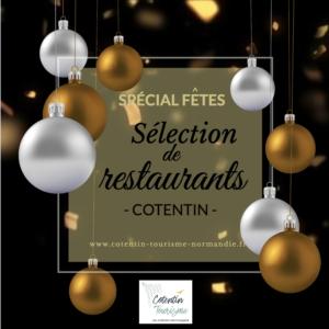 sélection de restaurant dans le cotentin pour les fêtes @cotentin tourisme