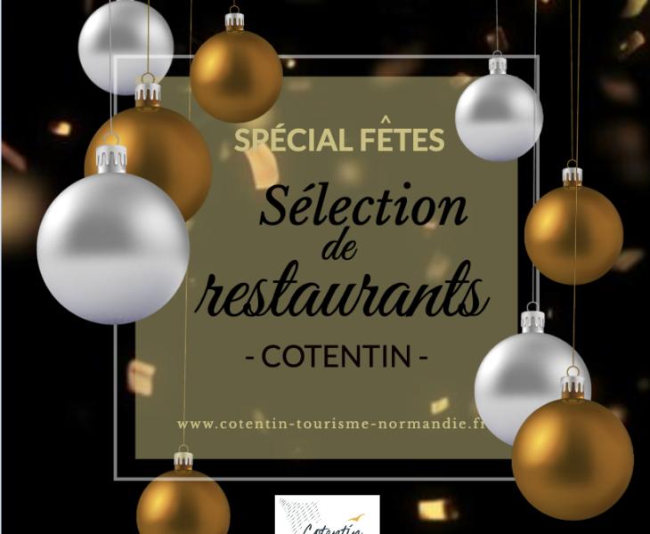 [SÉLECTION DE RESTAURANTS] Restaurants ouverts dans le Cotentin pour les fêtes