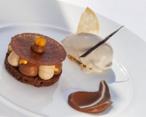 dessert restaurant la marine cotentin tourisme