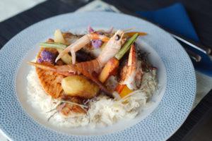 A l'Abri des Flots plats restaurant proche cherbourg - port Le Becquet - cotentin tourisme