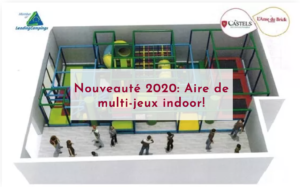 camping anse du brick aire de jeu nouveaute 2020 - COTENTIN - Normandie