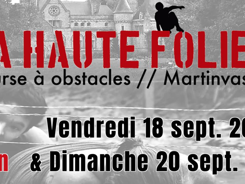 Agenda Cotentin : 15 et 17 mai 2020 – La haute folie Course à obstacles