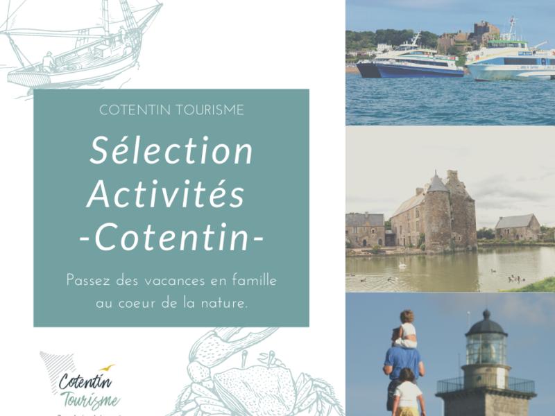 Cotentin Tourisme – Sélection des meilleures adresses d'activités dans le Cotentin