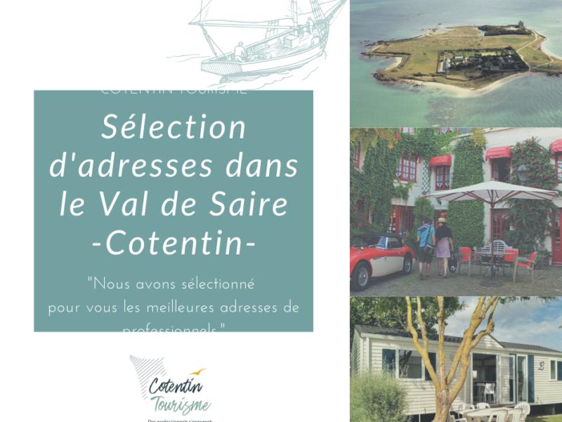 Découvrez les meilleures adresses du Val de Saire et Saint-Vaast-la-Hougue, village authentique du Cotentin