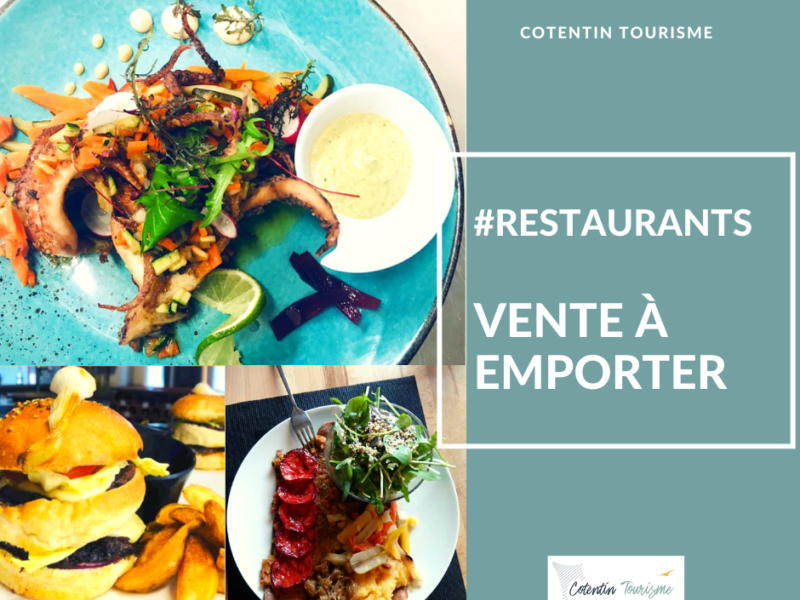 Sélection d'adresses : Vente à emporter dans les restaurants du Cotentin