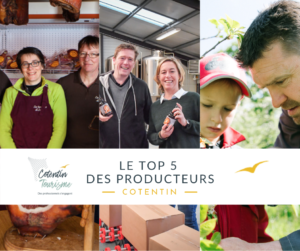 TOP 5 PRODUCTEURS TERROIR COTENTIN NORMANDIE