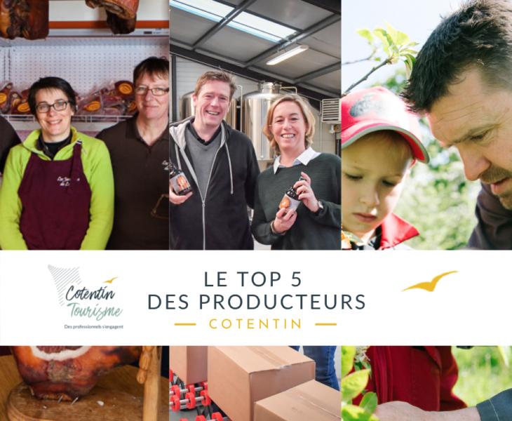 Top 5 des meilleures adresses de producteurs dans le Cotentin