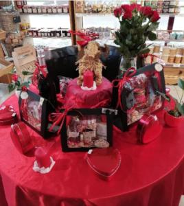boutique des jambons de lessay offre coffrets saint valentin