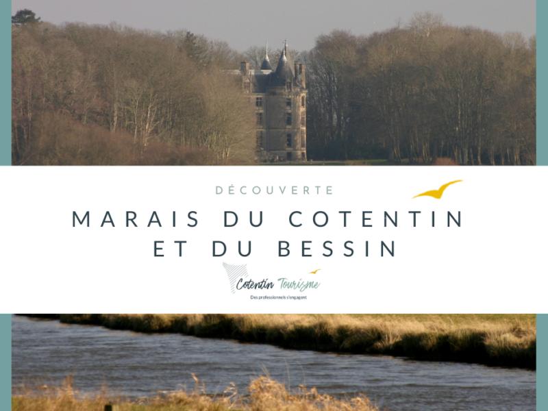 Les paysages uniques des marais du Cotentin et du Bessin